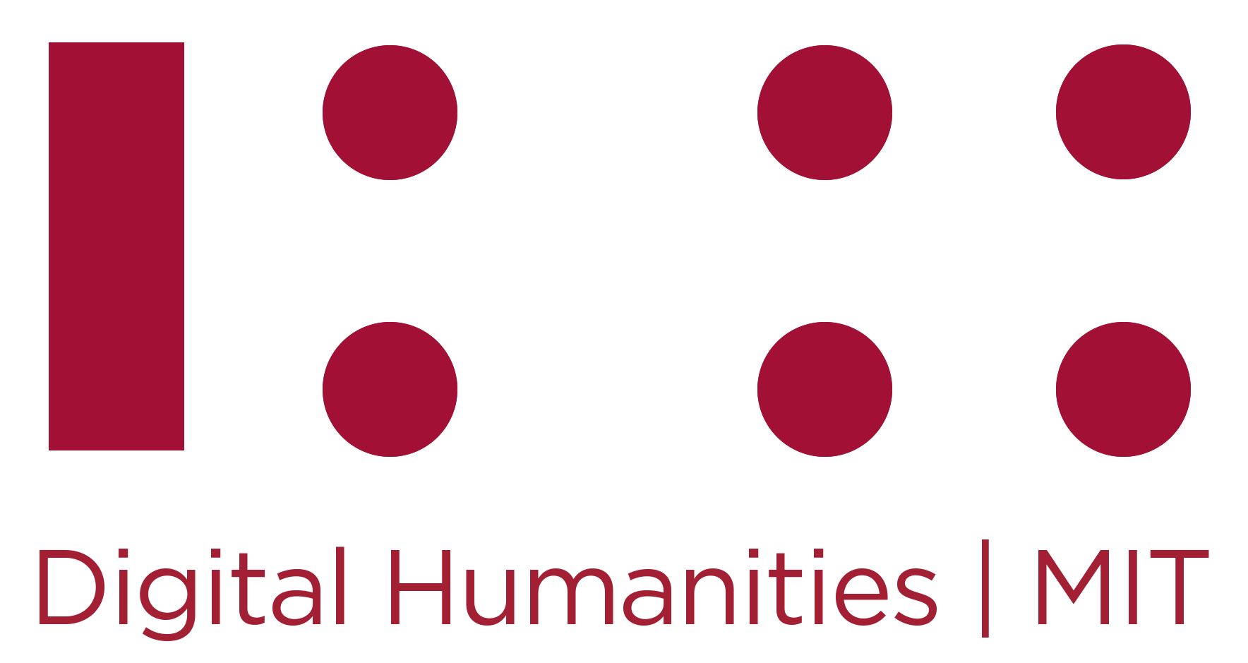 Digital Humanities at MIT Logo